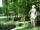 Vue des jardins du Château de Groussay