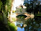 Le pont palladien au Château de Groussay