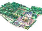 Carte des jardins du Château du Rivau