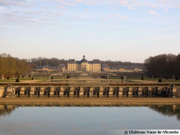 Le jardin du Château de Vaux-le-Vicomte (77)
