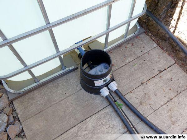 Programmateur pour cuve d'eau 0 bar 2 voies pour l'arrosage automatique de 2 zones
