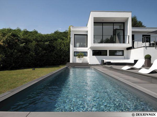 Id es de piscines - Margelle piscine contemporaine tours ...
