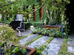 L'acier au jardin