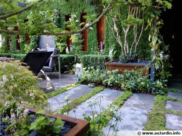 L 39 acier au jardin for Jardin japonais maison