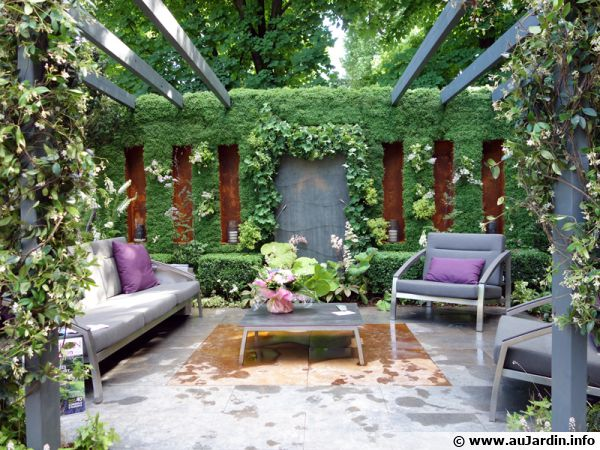 Didier danet le jardin jour nuit pour ma maison mon jardin for Ma maison et mon jardin