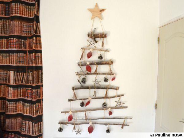 DIY, fabriquez votre sapin de Noël mural
