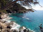 Vue sur la méditerranée depuis le Domaine du Rayol