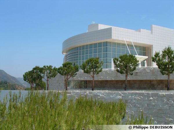 Getty Center, un ilot de verdure dominant Los Angeles