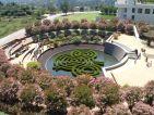Getty Center à Los Angeles, un jardin