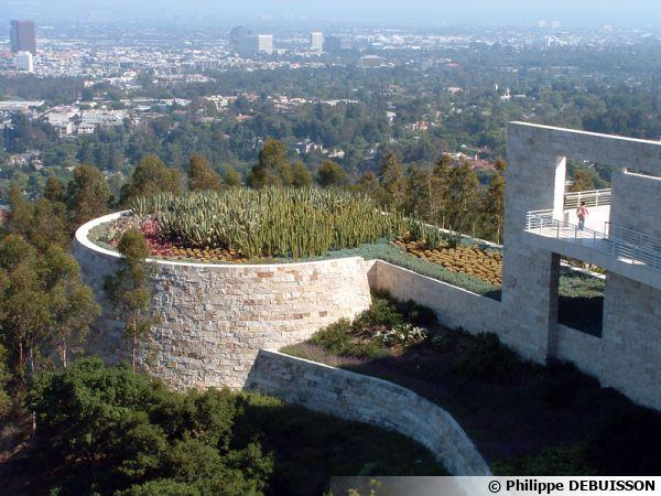 Getty Center à Los Angeles, vue d'ensemble
