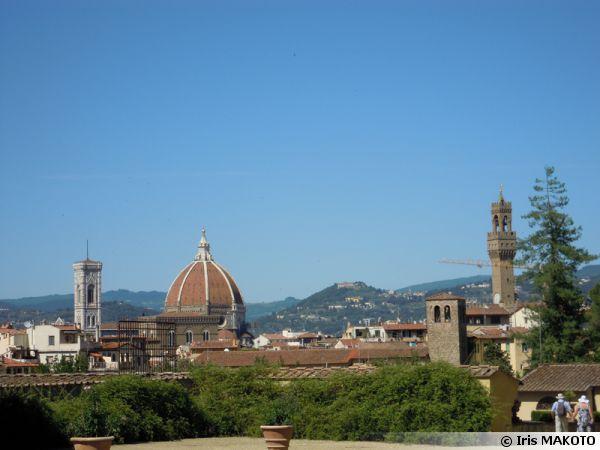 Vue de Florence en Italie