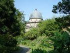 Vue centrale du Jardin botanique de l'Université de Strasbourg