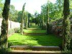 Jardin des Oules, allée florentine, entrée du labyrinthe