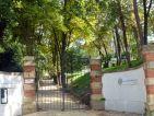 Jardin des Oules, entrée