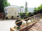 Les jardins cinématiques de Roland Garros, stèle d'Etienne Jules Marey