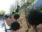 Les jardins cinématiques de Roland Garros, entrée des relations publiques du stade