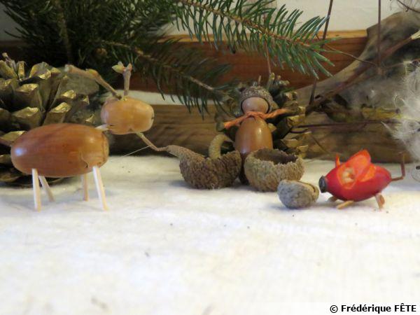 Jouets buissoniers de l'automne