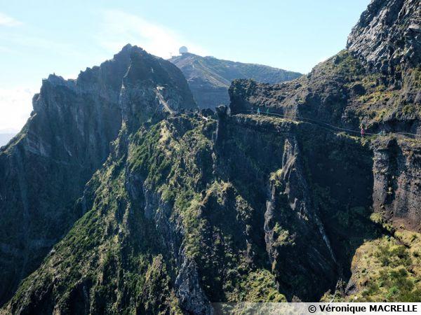 Madère, randonnée au Pico de Areeiro