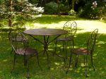 Entretenir le mobilier de jardin en métal