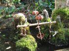 Un petit moulin ? eau dans son jardin