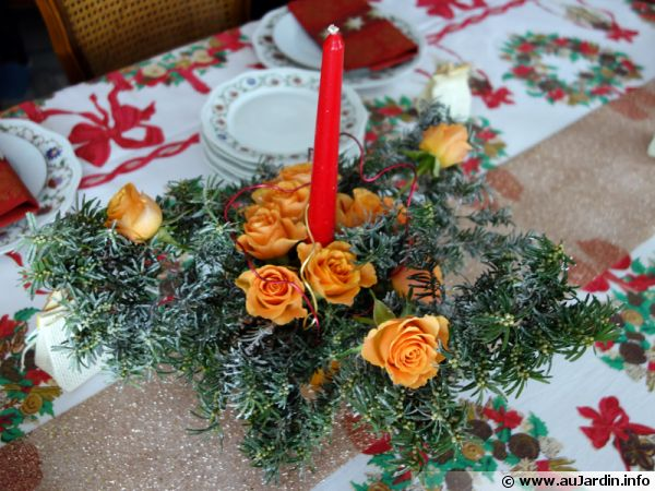 Decoration noel rebord fenetre
