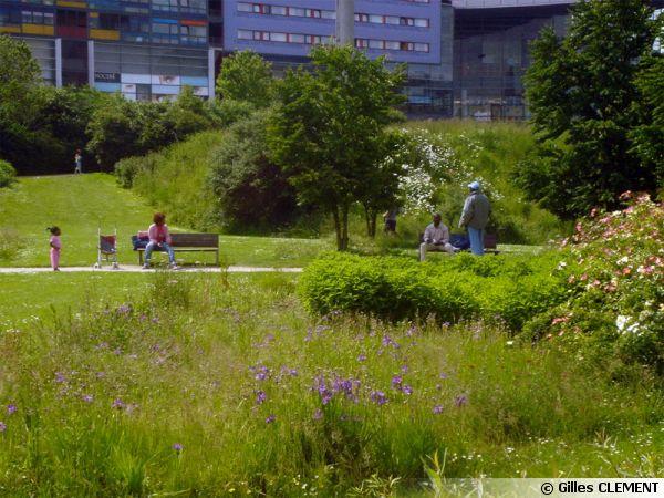 Parc Matisse, Lille, Jardin en mouvement