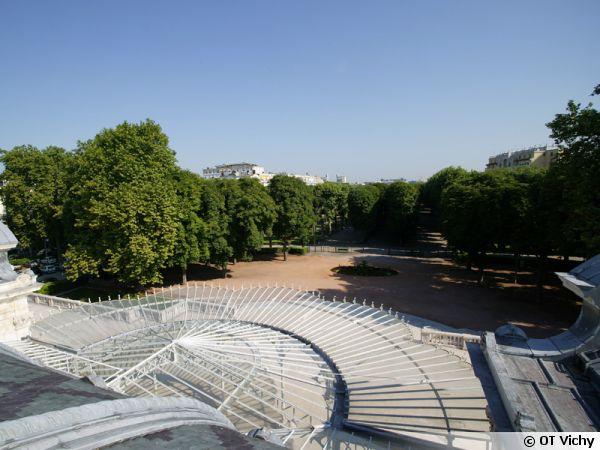 Le parc des Sources à Vichy