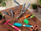 Les petits outils à main du jardinier