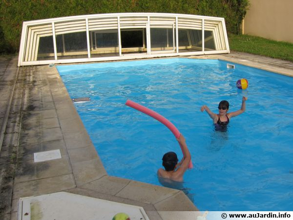 Le liner de piscine for Prix pose liner piscine