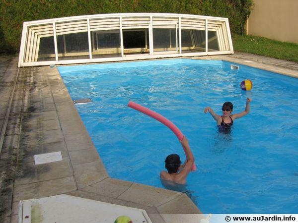 Le liner de piscine