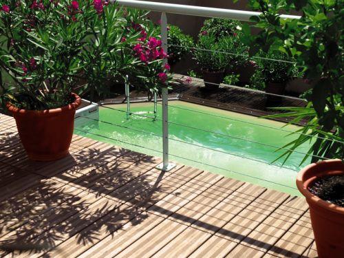 La piscine coque polyester - Coque piscine hors sol ...