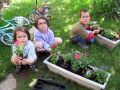 Le jardinage avec les enfants