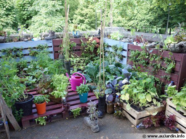 Recyclage d'objets de la vie courante au jardin