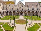 Le cloître de l'abbaye de Royaumont