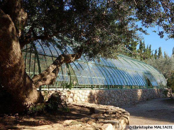 La serre de Jardin Auteuil 2.0 par Christophe MALTAITE