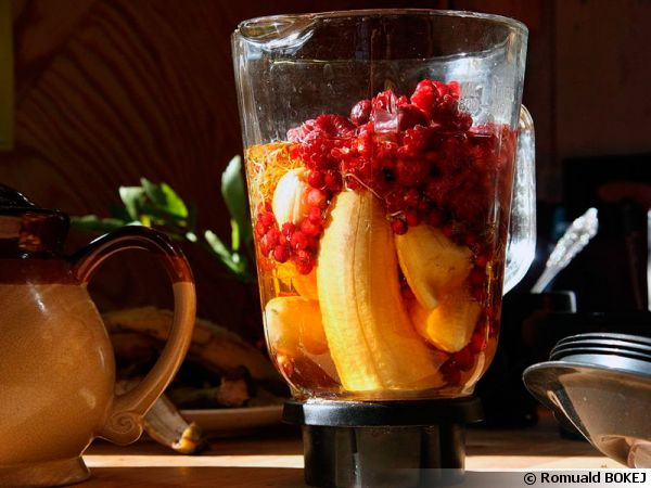 Le smoothie, une boisson riche en vitamines
