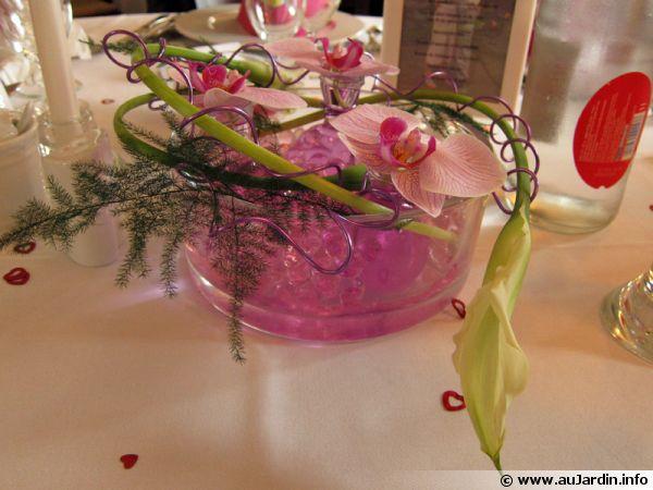 Les végétaux sont aussi à l'honneur à table avec ce bouquet original qui participe à la magie de Noël