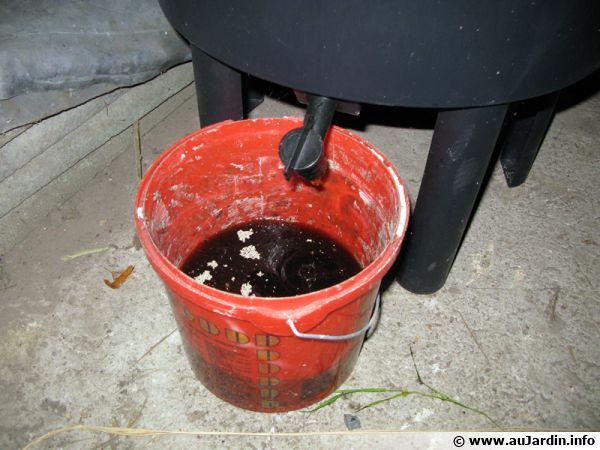 Le Thé De Compost - Comment fabriquer un composteur exterieur