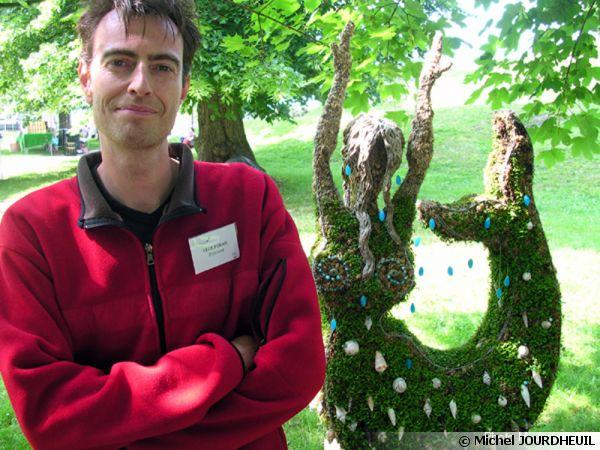 Richard DHENNIN, créateur des végéformes