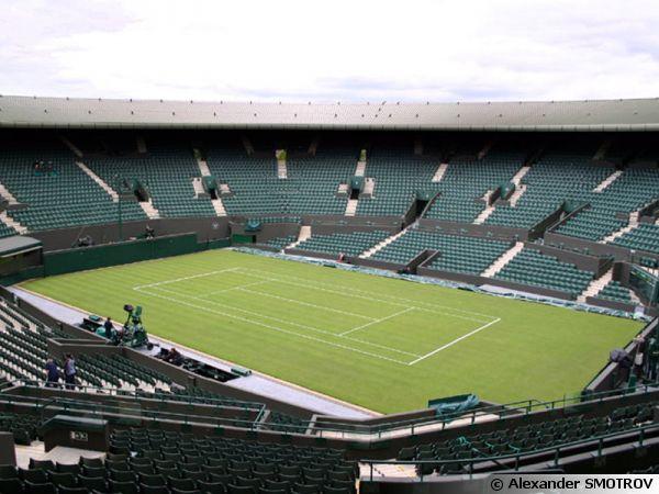 Le gazon de Wimbledon au court 1