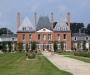 Le château et la roseraie de Mesnil Geoffroy (76)
