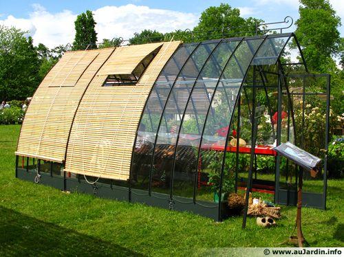 Les diff rents types de serre - Fabriquer une petite serre de jardin ...