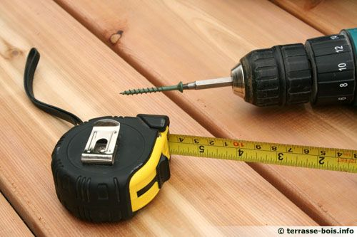 Quelques outils nécessaire pour sa terrasse bois