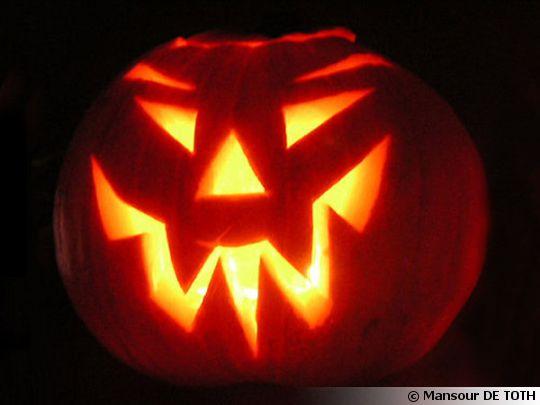 Pr parez votre citrouille pour halloween for Decoration qui fait peur