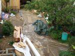 Le jardin après un chantier