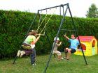 Aire de jeux au jardin : la sécurité prime !