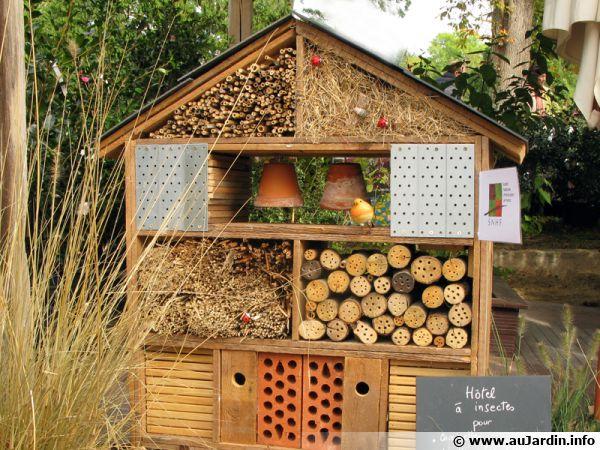Des refuges pour la faune du jardin