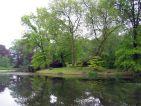 Domaine de Courson, étang au milieu du parc