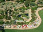 Parc de Saleccia, espace méditerranée, bassin, oliveraie
