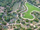Parc de Saleccia, vue aérienne